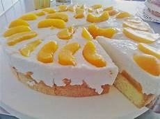 kuchen ohne backen mit quark geheime rezepte pfirsich joghurt torte mit vanillehauch