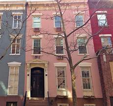 homes with a colorful city pretty in pink houses all new york city ephemeral