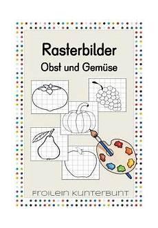 Ausmalbilder Obst Grundschule Rasterbilder Obst Und Gem 252 Se Unterrichtsmaterial In Den