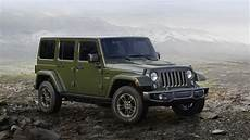2016 jeep wrangler 75th anniversary edition top speed