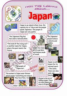 japanese elementary worksheets 19494 japan an introduction to the country and culture esl worksheet by 1hpf