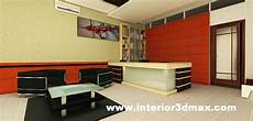 Desain Ruang Kerja Interior Lobby Resepsionis Kantor