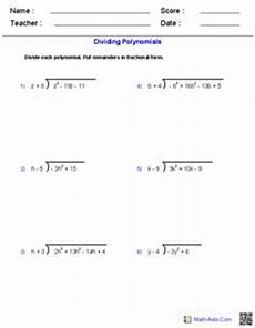 decimal worksheets 7160 dividing polynomials worksheets polynomials factoring polynomials rational expressions