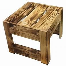 ᐅ Tisch Hocker Beistelltisch Geflammt Palettenm 246 Bel Shop