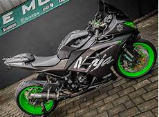 Modifikasi Kawasaki 250 by Modifikasi Kawasaki 250 Fi Ini Habiskan 150 Jutaan