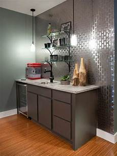 Metallic Kitchen Backsplash Metal Backsplash Ideas Hgtv