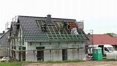 dach abdecken anleitung timelaps dach decken