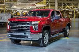 General Motors  GM Reveals 2020 Chevy Silverado 2500HD