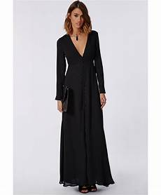 sleeve maxi dress rash missguided effie sleeve maxi dress black lyst