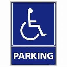 panneau parking handicapé panneau handicape achat vente pas cher
