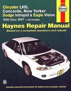 buy car manuals 1997 eagle vision regenerative braking lhs concorde new yorker intrepid vision repair manual 1993 1997