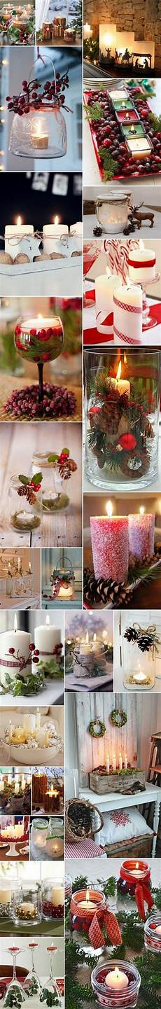 candele decorate per natale decorazioni natalizie in the wind