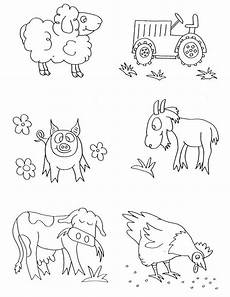 coloring pages of farm animals for preschoolers 17331 farm animals coloring pages preschool animals coloring pages here we come animals coloring