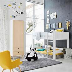maison du monde lit enfant lit mezzanine enfant 90x190 blanc tonic maisons du monde