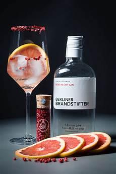 Erfrischender Blumig Fruchtiger Gin Tonic Mit Rosa