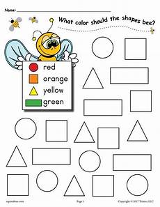 shapes coloring worksheets for kindergarten 1063 6 bee themed shapes coloring pages figuras geometricas para preescolar formas preescolar y