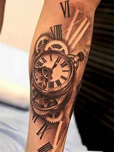 tatouage montre a gousset avant bras tatouage montre horloge tatouage horloge tatouage