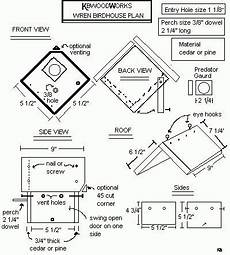 wren houses plans woodwork birdhouse plans wren pdf plans bird houses