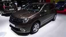 2017 Dacia Sandero Laureate Exterior And Interior