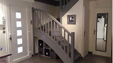 Escalier Repeint En Gris Photo 12 13 3528934
