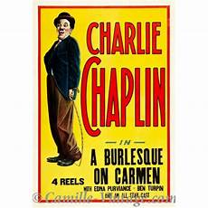 Ancienne Affiche Poster De Vintage Chaplin A