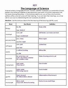 grammar worksheet answer key 25199 language of science worksheet with key by keystone science tpt