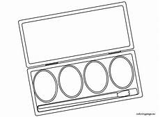 images of a paintbrush to color watercolor paint sets coloring page