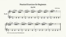 translation exercises for beginners 19148 czerny practical exercises for beginners op 599 no 16