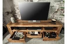 bois pour meuble meuble tv en bois massif 170 cm pour salon