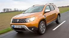 dacia duster jahreswagen dacia duster dci 110 4x4 2018 im test