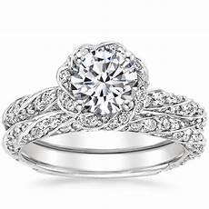 pave wedding rings sparkling pav 233 engagement rings brilliant earth