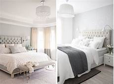 graue wand schlafzimmer grey bedroom walls eszterieur