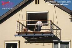 balkon anbauen ohne stützen haenge balkon mit holzbelag in lindau krauss gmbh d