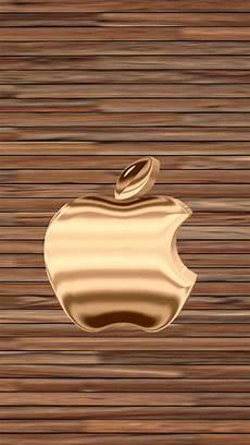gold apple logo wallpaper gold wood 640 x 1136 wallpapers 4476415