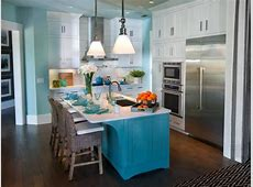 Painting Kitchen Islands: Pictures, Ideas & Tips From HGTV
