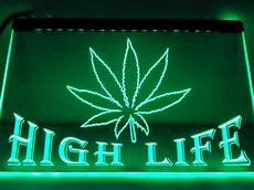 light wall signs high life lighted sign man cave led wall decor light signs cave