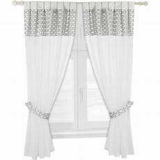 gardinen set mytoys collection alvi gardinen set wolke voile grau je