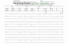 free writing sheets for kindergarten 1 handwriting practice worksheets handwriting