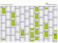 Ferien Hamburg 2017 Ferienkalender Zum Ausdrucken