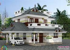 small house in kerala in 640 square feet beautiful 4 bedroom sloping roof home 1940 sq ft kerala