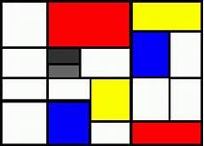 H Mondrian Paintings