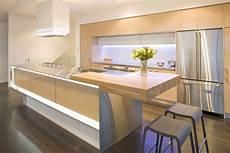 natural wood modern kitchen interior design ideas