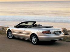 chrysler sebring convertible specs 2001 2002 2003