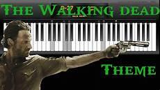 The Walking Dead Theme Piano