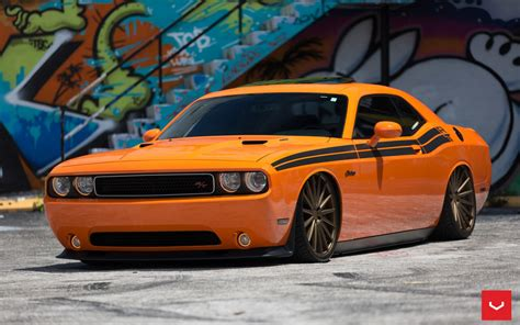 Dodge Challenger Vfs2 Bronze Wallpaper