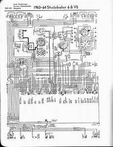 1955 Studebaker Wiring Diagram by Studebaker Wiring Diagrams The Car Manual Project
