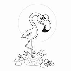 Malvorlage Flamingo Einfach Flamingo Malvorlage Einfach Coloring And Malvorlagan