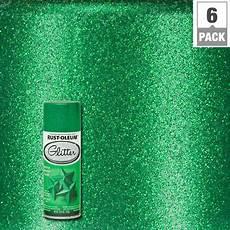 rust oleum specialty 10 25 oz green glitter spray paint 6 277781 the home depot