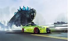 Godzilla Skyline Gtr Wallpaper nissan gtr r35 liberty walk green godzilla speed hd wallpaper