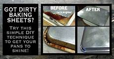 diy how to clean a baking sheet